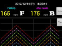 Diabetes Diary Lite 1.2 Screenshot