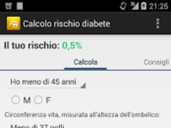 Diabetes risk calculator 1.3.1 Screenshot