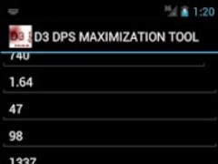Diablo 3 Max DPS 1.2a Screenshot