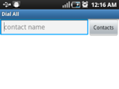 Dial All Contact Numbers-Free 1.7 Screenshot