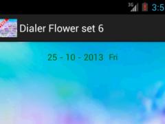 Dialer Flower 6 1.0 Screenshot