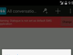 Dialogue Secure Messaging SMS 1.0 Screenshot