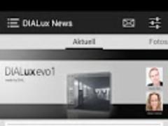 DIALux Newsapp 5.502 Screenshot