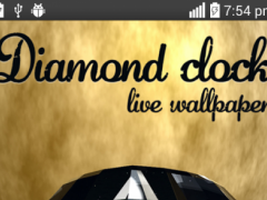 Diamond Clock Live Wallpaper 1.0 Screenshot