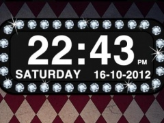 Diamond Clock Widget 2.2.1 Screenshot