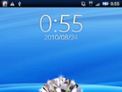 Diamond Clock 1.0 Screenshot