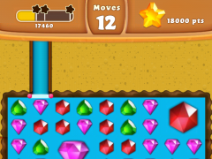 Review Screenshot - Match-3 Game – Dig Your Way to the Treasure