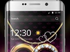Diamond Love Theme Luxury Gold 1.1.1 Screenshot