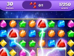 Diamonds Gems magic match 3 new free matching Game 1.0 Screenshot