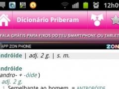 Dicionário Priberam 2.1.5 Screenshot