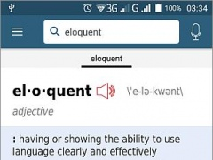 Review Screenshot - English Dictionary – Learning English Made Simple!