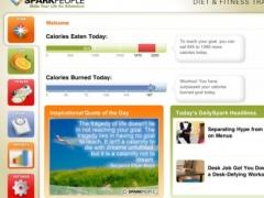 Diet & Fitness Tracker for iPad - SparkPeople 1.1 Screenshot