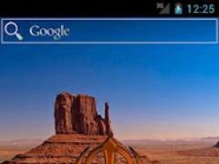 Digi Khanda Clock (Orange) 5.0 Screenshot