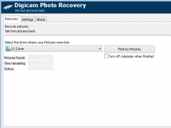 Digicam Photo Recovery 1.8.0.0 Screenshot