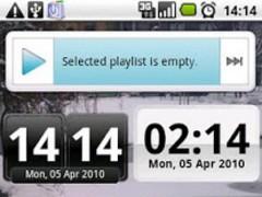 DigiClock Widget 3.0c Screenshot