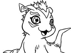 Digimon Coloring 2.0 Screenshot