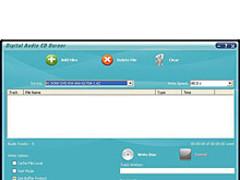 Digital Audio CD Burner 7.4.0.12 Screenshot