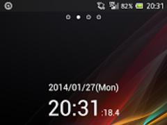Digital Clock 0.1 Seconds 3.1 Screenshot