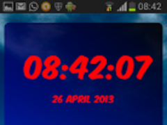 Digital Clock Bayern Munich 1.02 Screenshot