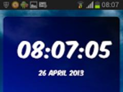 Digital Clock Chelsea 1.02 Screenshot