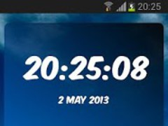 Digital Clock Hertha BSC 3.10 Screenshot