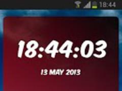 Digital Clock Miami Heat 1.03 Screenshot