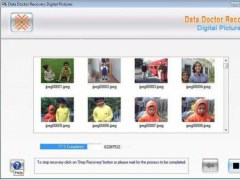 Digital Image Retrieval Software 3.0.1.5 Screenshot