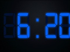 Digital LCD Clock 1.02 Screenshot