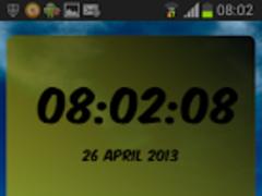 DigitalClock Borussia Dortmund 1.02 Screenshot