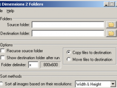 Dimensions 2 Folders 1.0.8.1 Screenshot