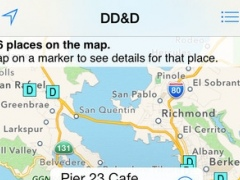 Diners, Drive-ins and Dives Locator by Free Download on