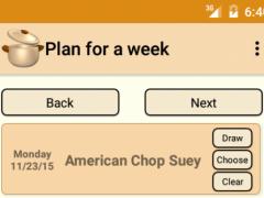 Dinner Planner 2 1.1.0 Screenshot