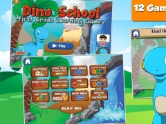 Dino 1st Grade Learning Games 2.25 Screenshot