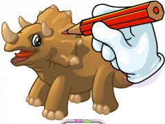 Dino Coloring Book Pro - Draw & Paint Dinosaurs 1.2 Screenshot