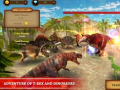 Dinosaur Fighting Game | T-Rex Adventure Simulator 1.0.2 Screenshot