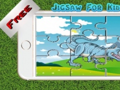 Dinosaur Jigsaw Puzzle Kids - Puzzles Games Education Learning Free For Toddler and Preschool 1.0 Screenshot