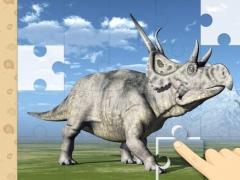 Dinosaurs Prehistoric Animals Jigsaw Puzzles : logic game for preschool kids 1.0 Screenshot