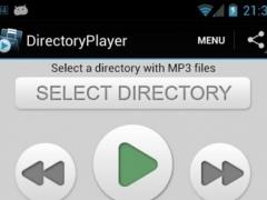 DirectoryPlayer 1.6 Screenshot
