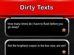 Dirty Texts 1.0 Screenshot