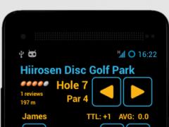 Disc Caddy ● Disc Golf app 1.4.0 Screenshot