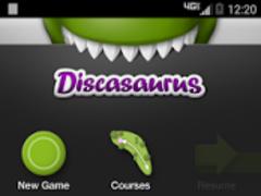 Discasaurus Disc Golf 1.9 Screenshot