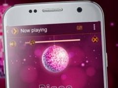 Disco ball PlayerPro Theme 1.2 Screenshot