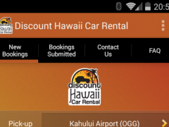 Discount Hawaii Car Rental 1.0 Screenshot