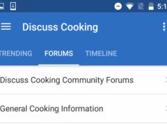 Discuss Cooking 5.2.6 Screenshot