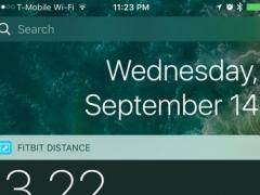 Distance Widget for Fitbit 1.2 Screenshot