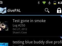 divePAL (Scuba Dive Log) 1.9.4 Screenshot