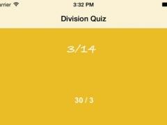 Division Quiz 1.0 Screenshot