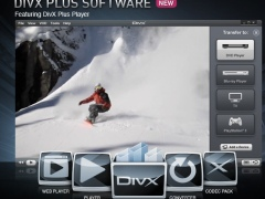 DivX Plus Software for Windows 8 Screenshot