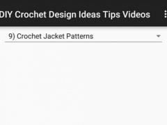 DIY Crochet Design Ideas Tips 1.0 Screenshot