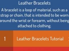 DIY Leather Bracelets - Best Video Guide 1.1 Screenshot